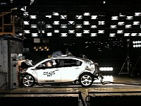 Chevrolet Volt smashed by the NHTSA