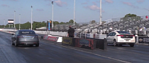 Chevy Volt is No Match for Tesla Model S On Drag Strip [Video]