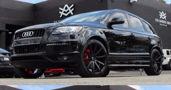 Chicago Cubs Armando Rivero Gets His 2014 Audi Q7 All Blacked Out Autoevolution