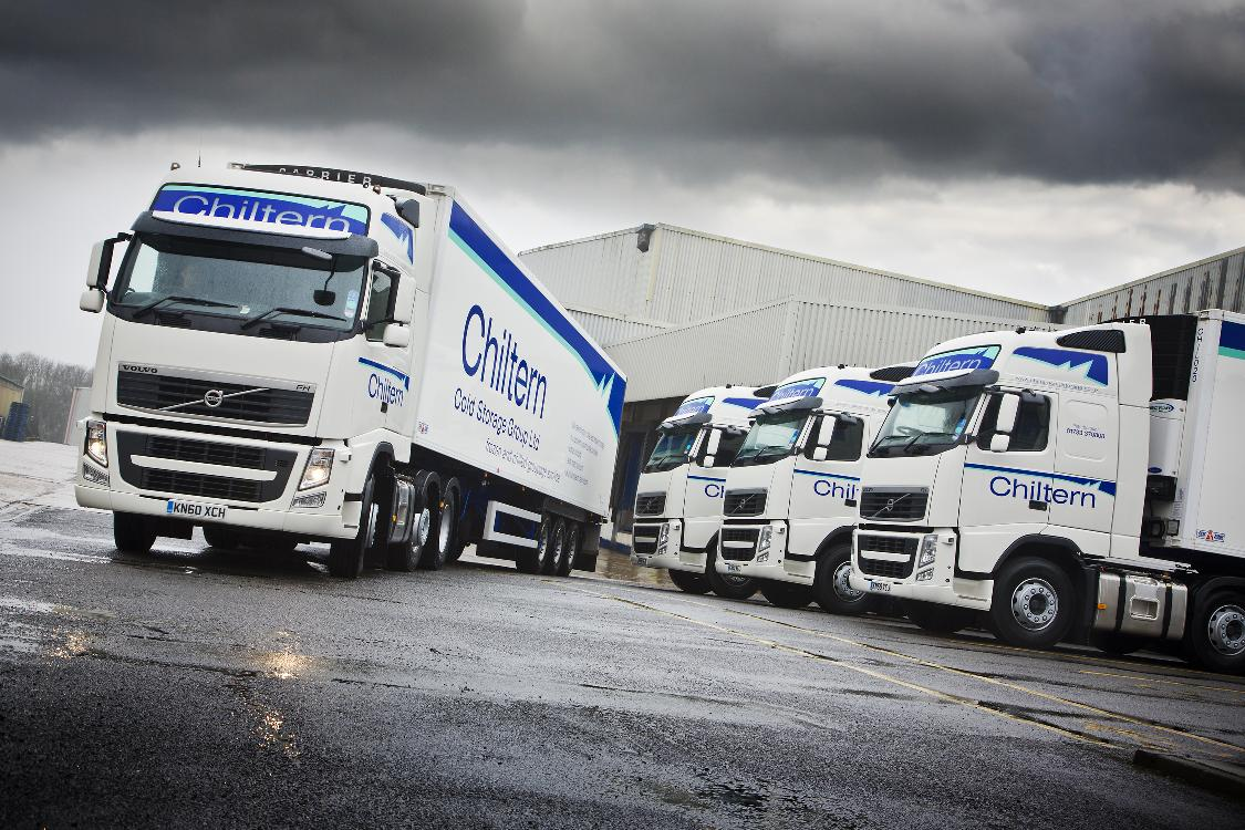 Wonderful Chiltern Cold Storageu0027s Four New Tractor Units
