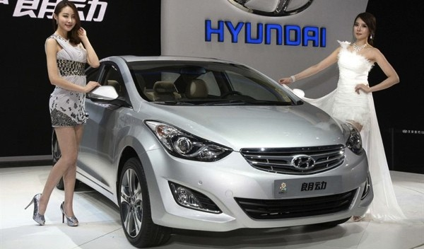 China-Exclusive Elantra Unveiled in Beijing