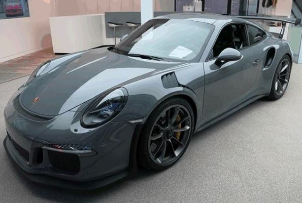 China Grey Porsche 911 Gt3 Rs Is Real Borrows Aston Martin Color Autoevolution