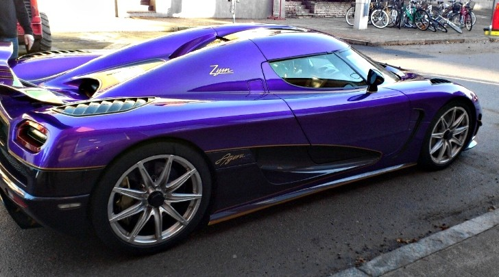 China Only Koenigsegg Agera R Zijin Spotted Gets Solid