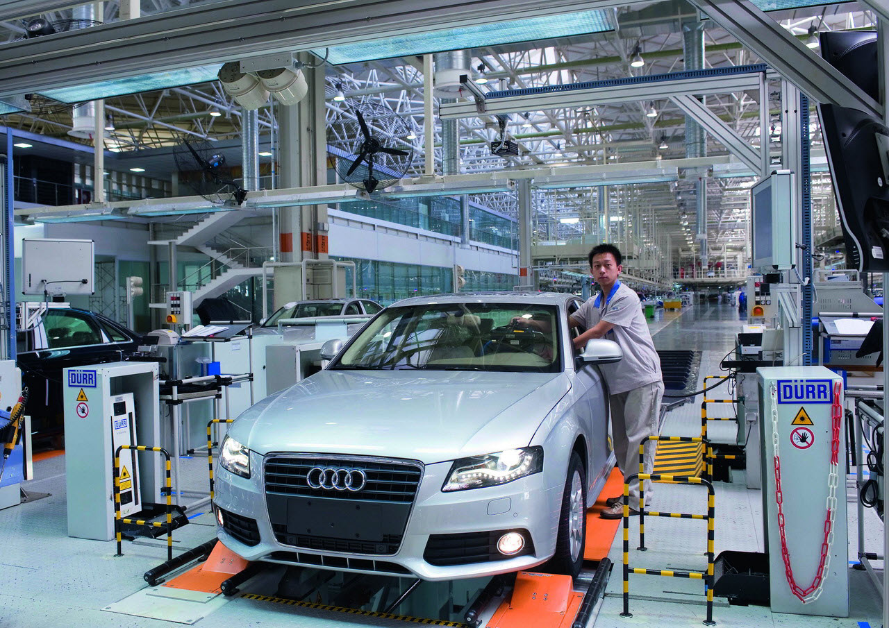 Is it wrong for the car companies to help China expand its auto industry?'?