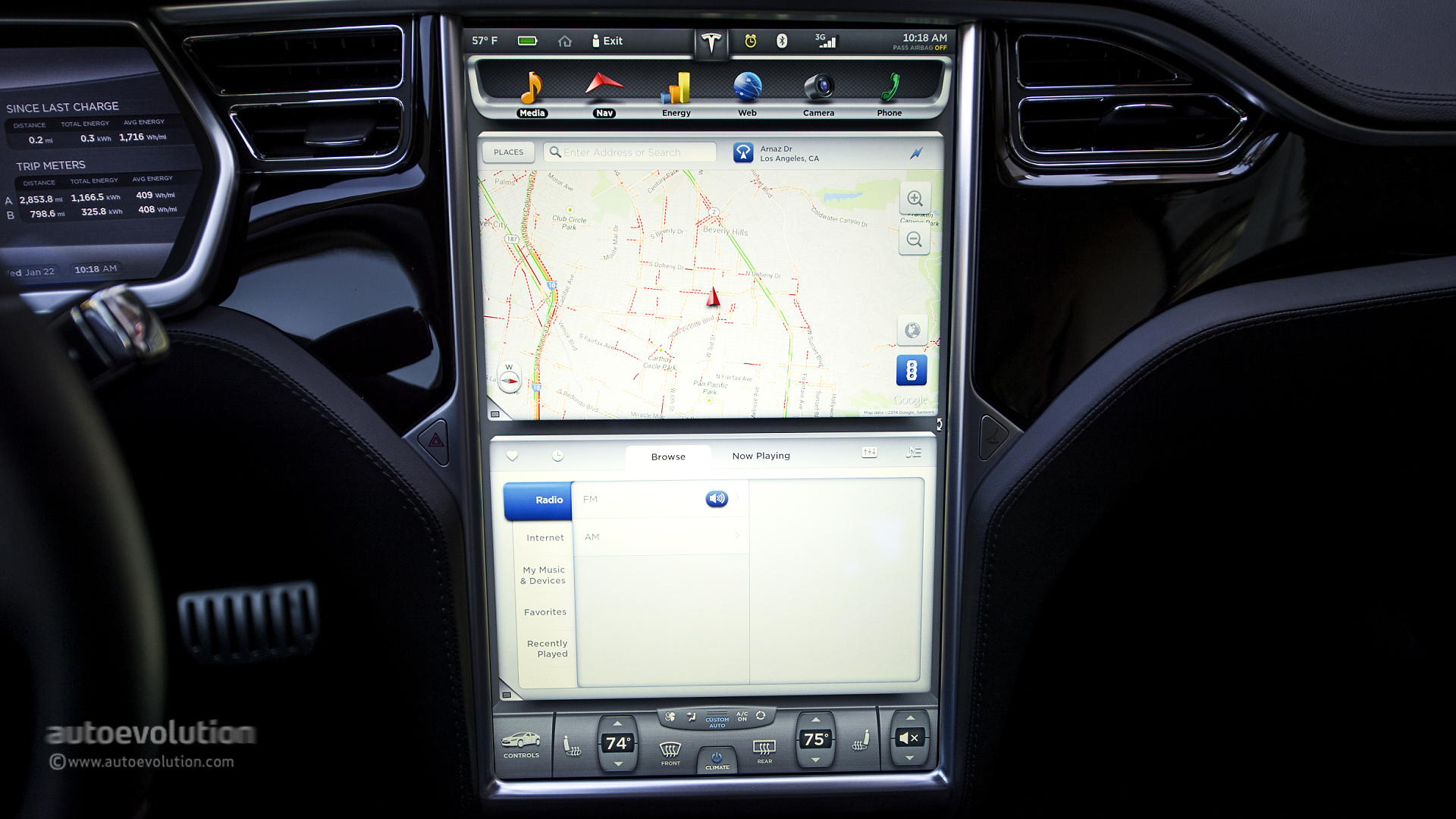 China-Spec Tesla Model S Doesn't Have Sat-Nav, Google Maps ...