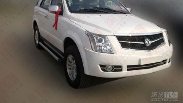 Chinese Automaker Dongfeng Makes Blatant Copy of Cadillac SRX