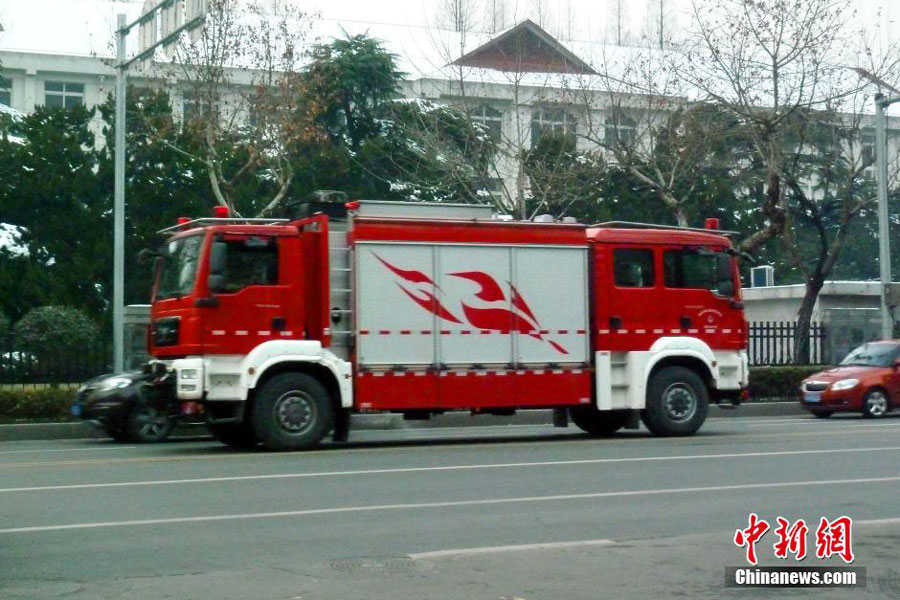 Chinese City Gets Two Headed Fire Truck Reminds People Of