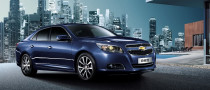 Chinese Edition 2013 Chevrolet Malibu Revealed