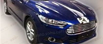 Chinese Ford Mondeo Gets Extra-Shiny Chrome Fascia
