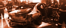 Chinese Gamer Nearly Burns to Death in his BMW Playing on His Phone