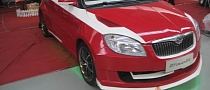 Chinese Tuning: Skoda Fabia Turned Candy Cane