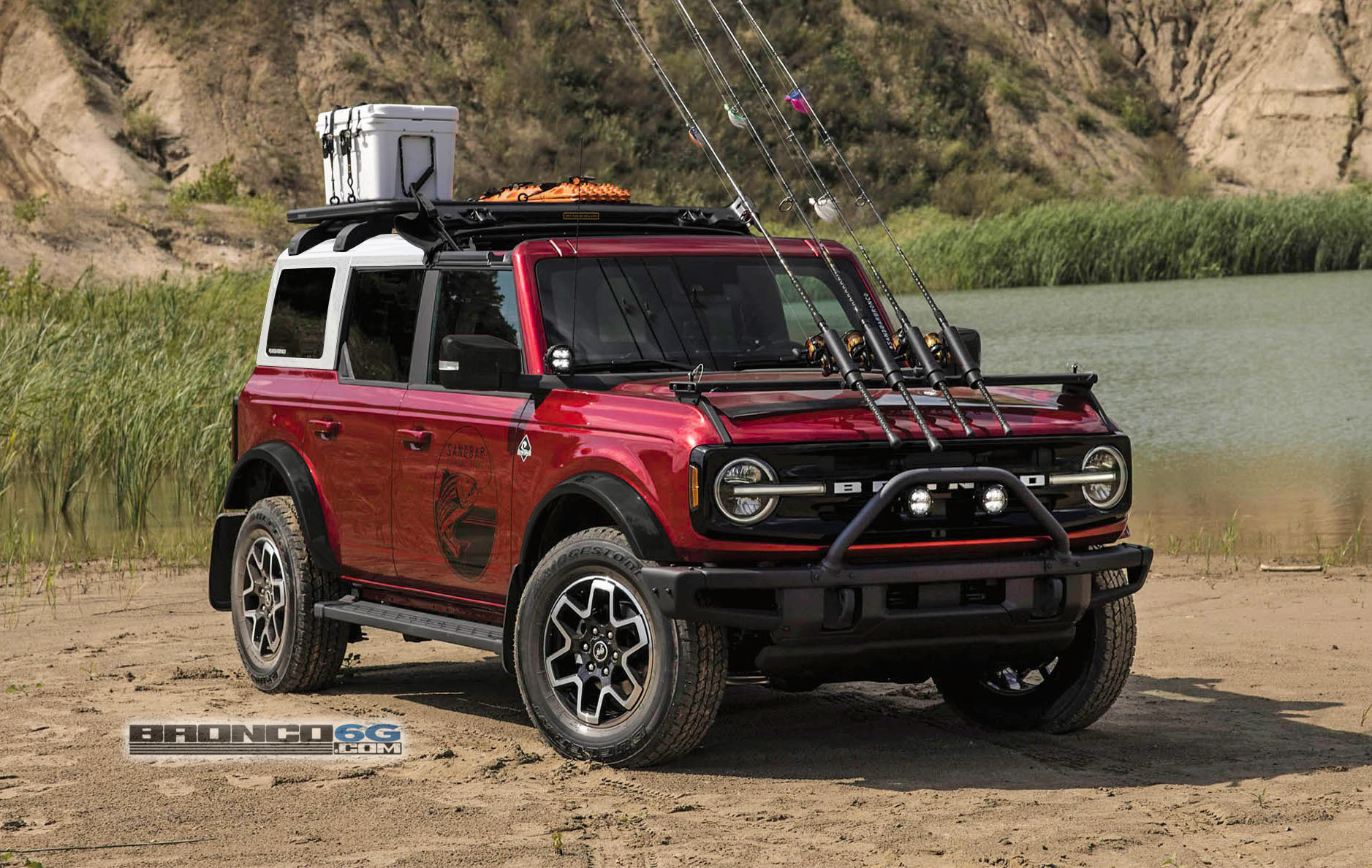 choose your favorite 2021 ford bronco color on the 4door