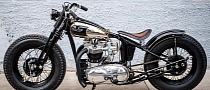 Choppahead Nickel Peeper Pre-Unit Retro Triumph