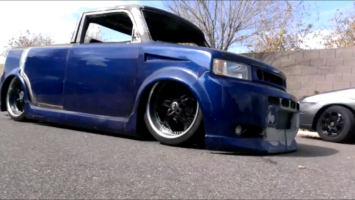 Chopped Scion xB Turns Into Modern Rat Rod [Video]