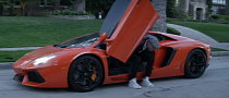 "Chris Brown Drives His Aventador in ""Fine China"" [Video]"