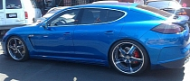 Chris Brown Gets Tuned Porsche Panamera