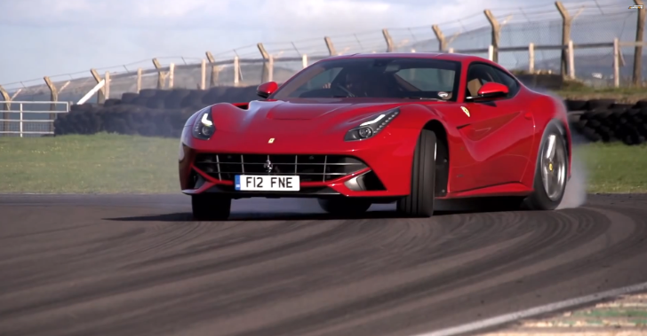 Chris Harris Compares Ferrari F12 to a BMW M3 [Video]