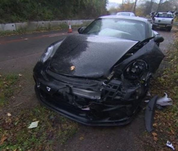 Chris Harris Crashes His Porsche 911 Gt3 Police Report
