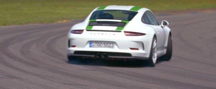 Ken Block Drift King >> Chris Harris Drifts Porsche 911 R: How Do They Make a Rear-Engined Car Do That? - autoevolution