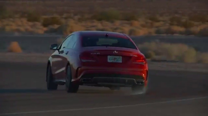 Chris Harris Manages to Powerslide a CLA 45 AMG [Video]