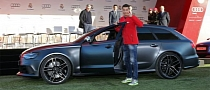 Cristiano Ronaldo Gets Audi RS6 Avant as Real Madrid Receives Yearly Audis