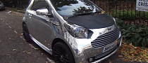 Chrome Aston Marin Cygnet Is a Rare Bird [Video]