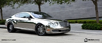 Chrome Bentley by Metro Wrapz [Video] [Photo Gallery]