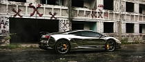 Chrome Lamborghini Gallardo: Fast Liquid Metal