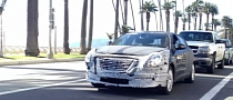 Chrysler 100 Mule Spotted in Santa Monica [Video]