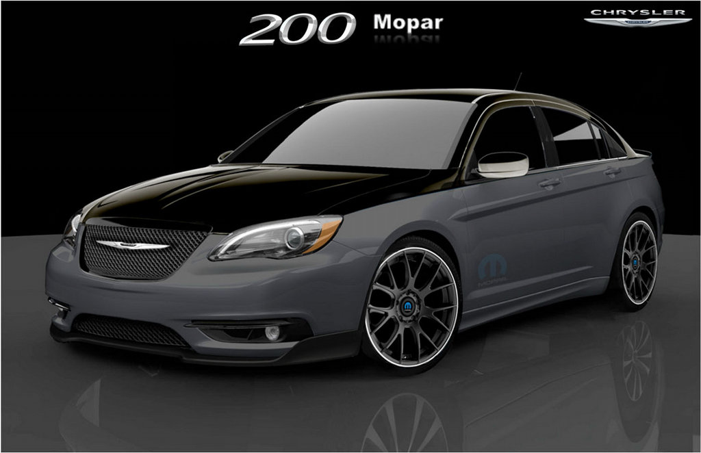 Chrysler 200 Super S By Mopar Coming To Detroit