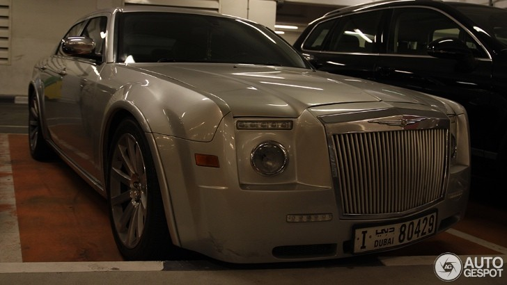 Chrysler 300 Has Identity Crisis, Thinks It's a Rolls Royce [Video]