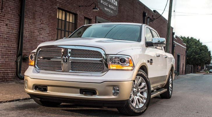 Chrysler Announces New Ram Pickup Trucks Recall