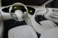 Interior of Chrysler's concept car