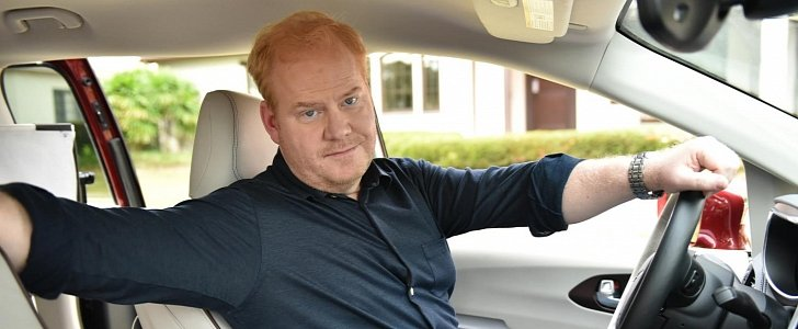 photo of Jim Gaffigan  - car