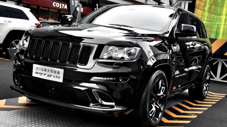 Chrysler Launches Jeep Grand Cherokee SRT8 Black Edition ...