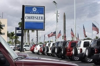 Chrysler dealerships report tens of unsold units
