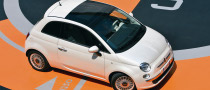 Chrysler Officials Drive Fiat 500 to New York Auto Show
