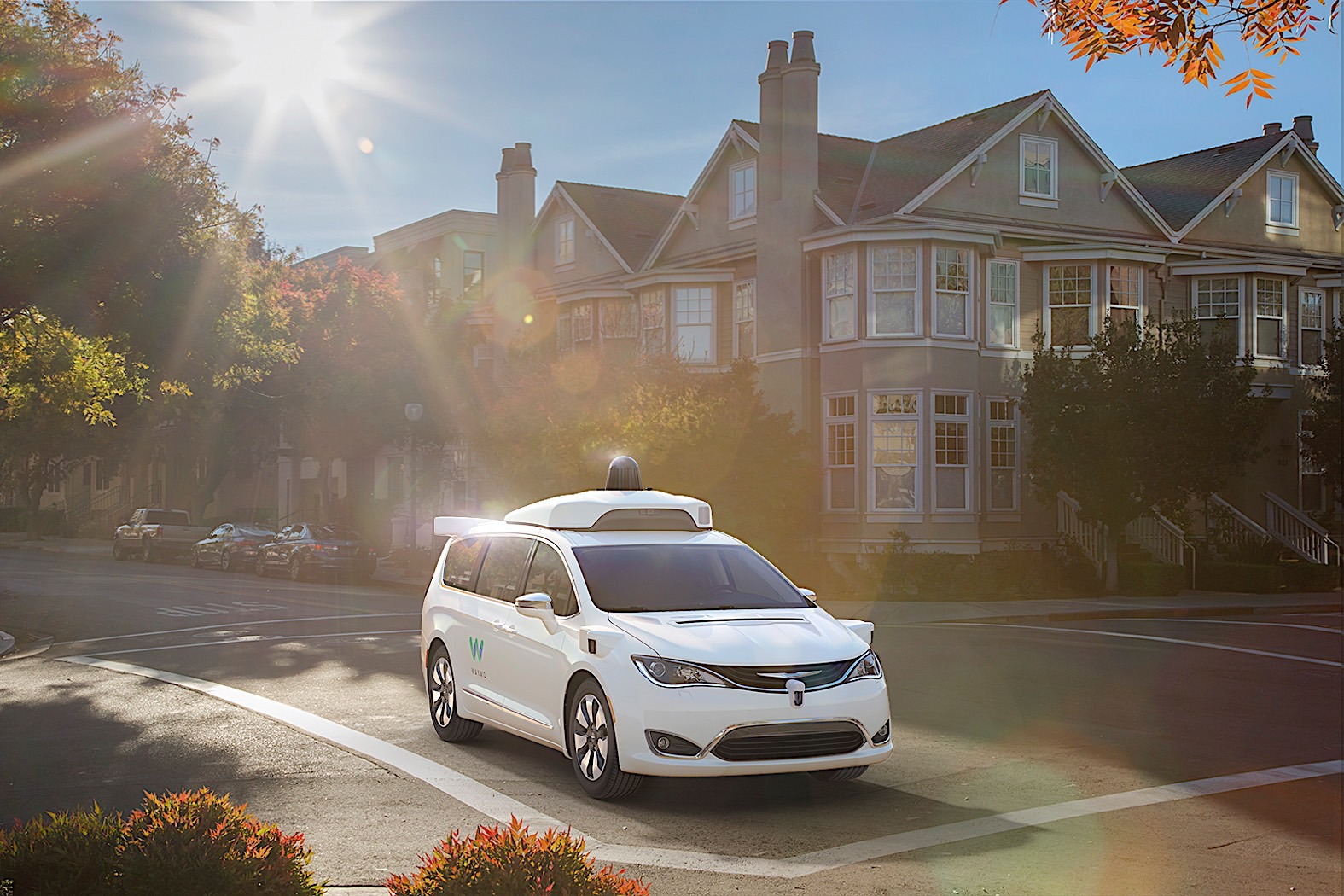 Waymo orders thousands of Pacificas for 2018 self-driving fleet rollout