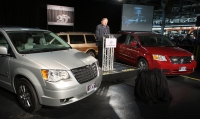 Chrysler unveiling the special edition minivans