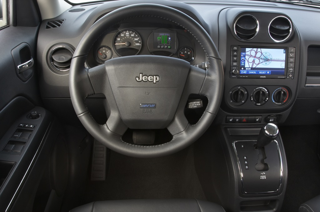 Interior Of 2009 Jeep Patriot