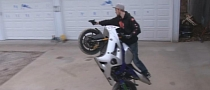 Circle Wheelies and Cool Gun-Slinging [Video]