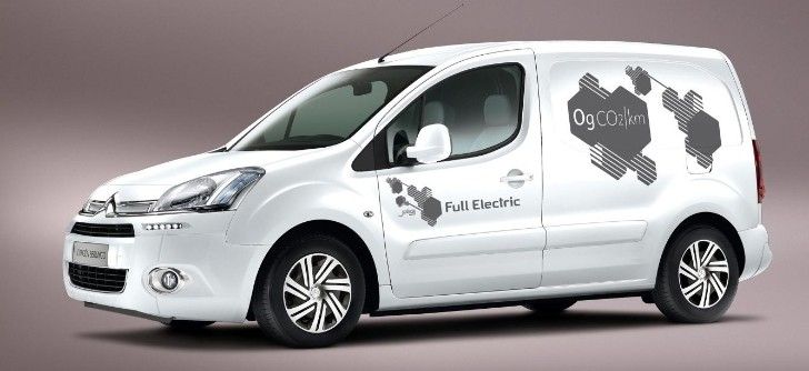 Citroen Berlingo Electrique to Debut at 2013 CV Show