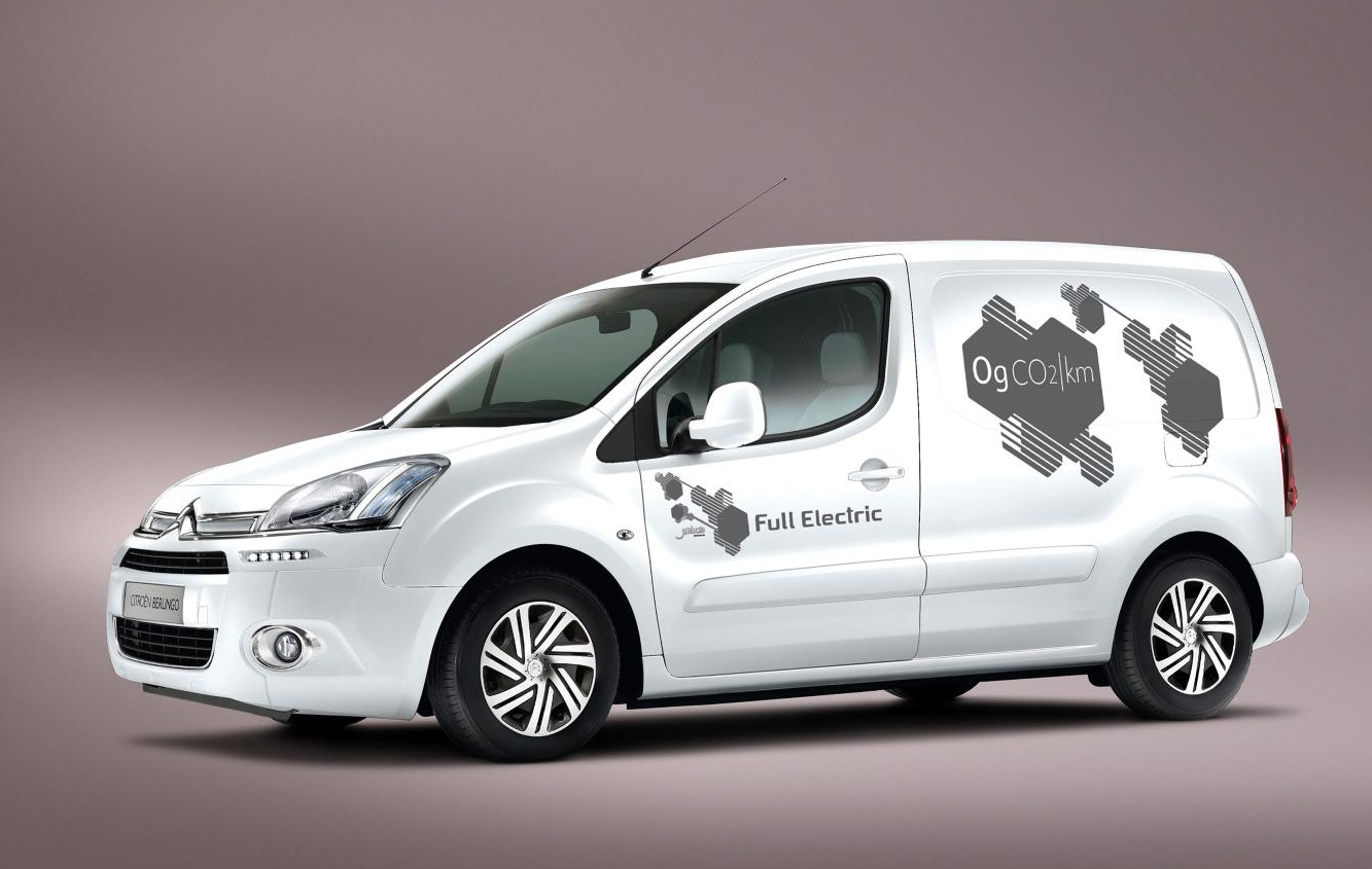 citroen berlingo electrique to debut at 2013 cv show autoevolution. Black Bedroom Furniture Sets. Home Design Ideas