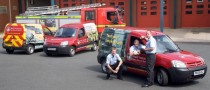 Citroen Berlingo Used in Fire Prevention