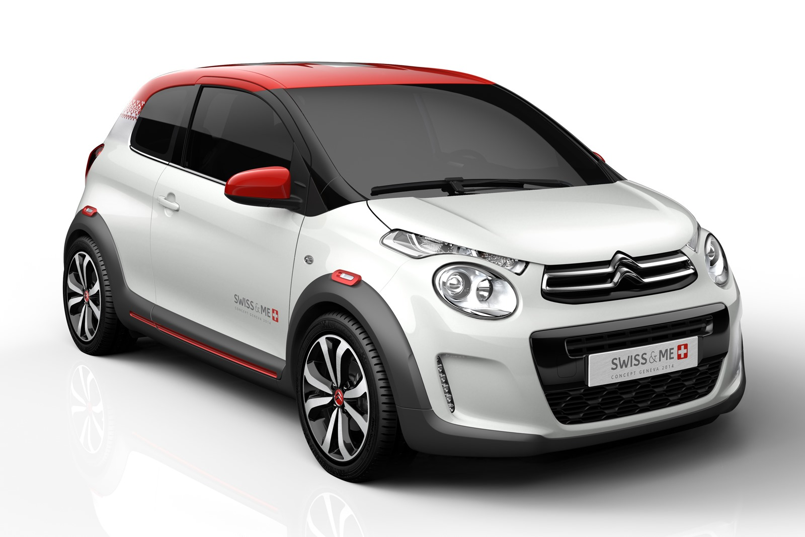 citroen c1 swiss me concept is a beautiful little hot hatchling autoevolution. Black Bedroom Furniture Sets. Home Design Ideas