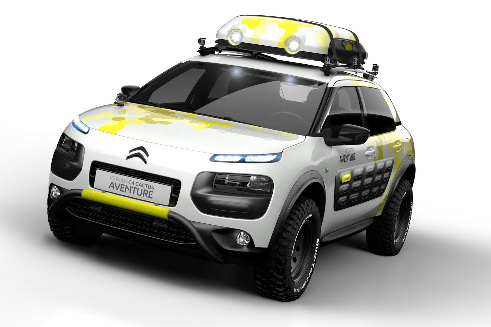 citroen c4 cactus adventure concept revealed autoevolution. Black Bedroom Furniture Sets. Home Design Ideas