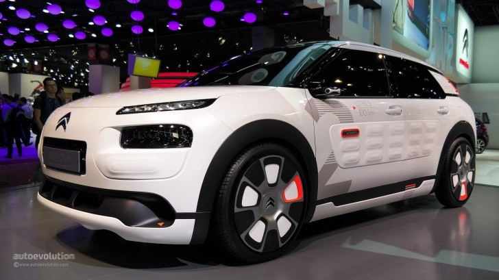 citroen c4 cactus airflow 2l concept hisses at paris 2014. Black Bedroom Furniture Sets. Home Design Ideas