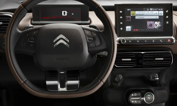 Citroen C4 Cactus Green >> Citroen C4 Cactus Interior and Exterior Photos Leaked - autoevolution