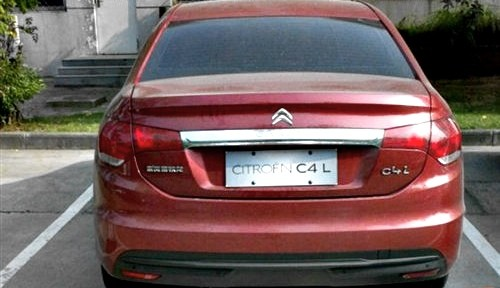 Citroen C4L Sedan Spotted Uncovered in China [Photo Gallery]