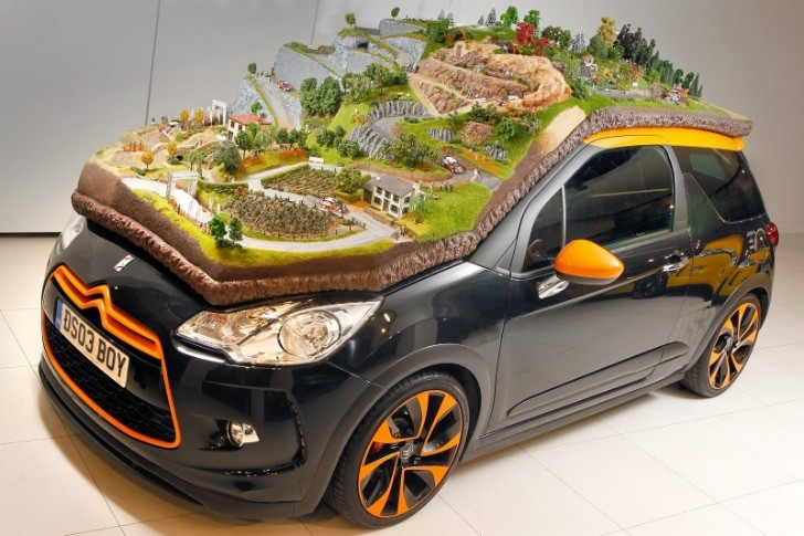 Citroen Celebrates Rally Success with Impressive Diorama On Top of a DS3 [Photo Gallery]
